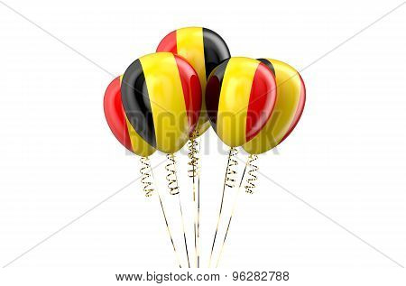 Belgium Patriotic Balloons,  Holyday Concept