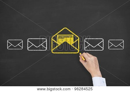 Email Drawing on Blackboard