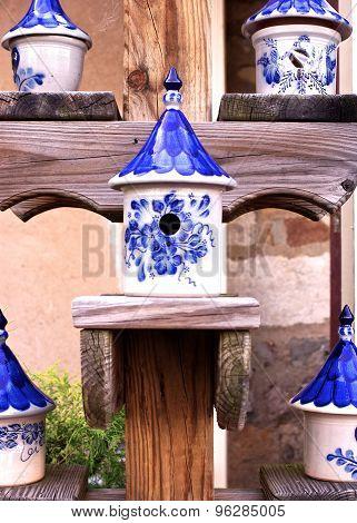 Ceramic Birdhouses