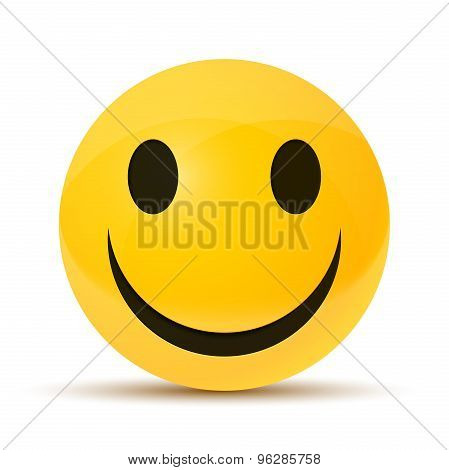 yellow happy face