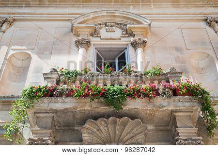 Baroque Balcony