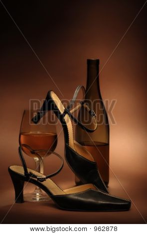 Still Life With Women'S Shoes