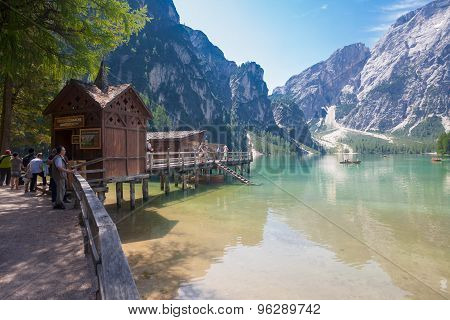 Lake Braies, Dolomites