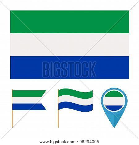 Sierra Leone,country flag