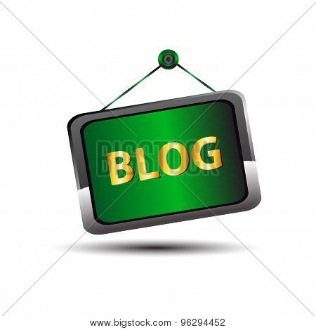 Blog icon. blog icon on white background