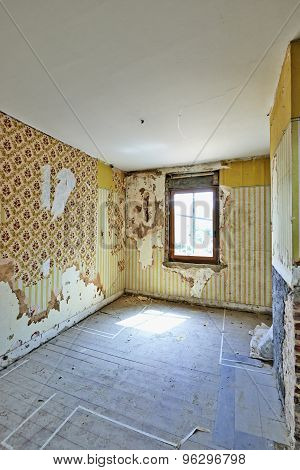 Renovation In Abandoned Room