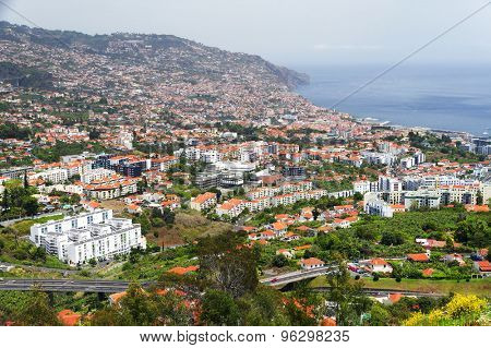 View of Funchal, Madeira island, Portugal