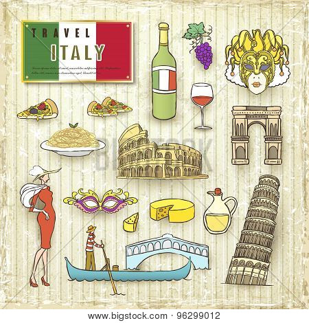 Travel Concept Of Italy