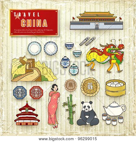 Travel Concept Of China