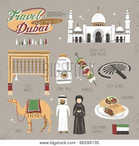 Travel Concept Of Dubai