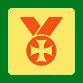 image of maltese-cross  - Maltese medal icon from Award Buttons OverColor Set - JPG