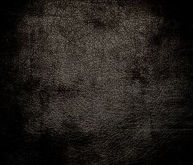 stock photo of taupe  - Grunge background of dark taupe leather texture for design - JPG
