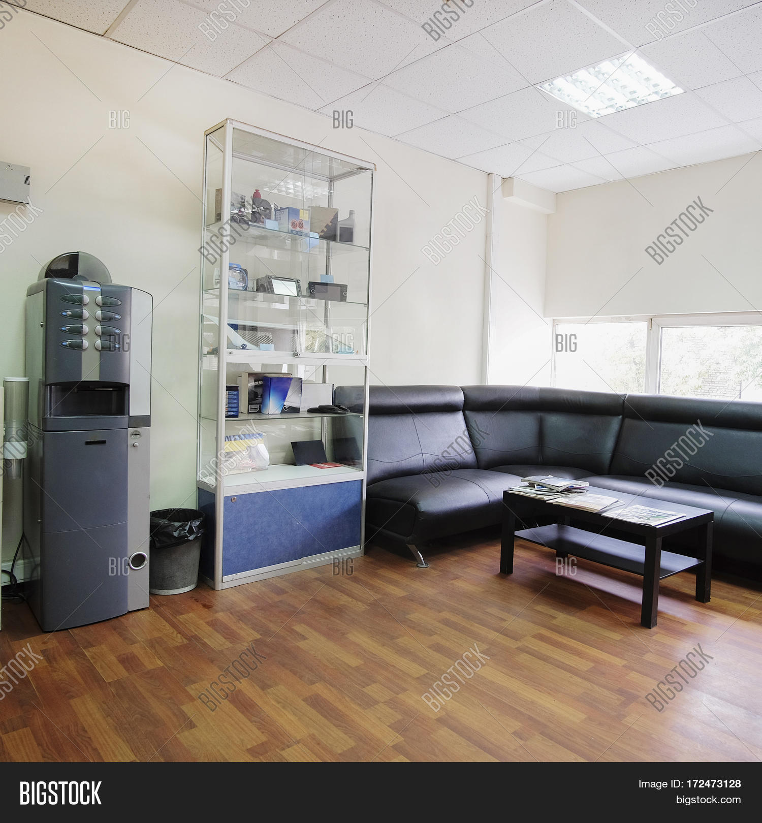 Interior Of A Visitor Room In An Auto Service Stock Photo Stock Images Bigstock