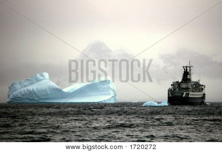 Orlova And An Iceberg