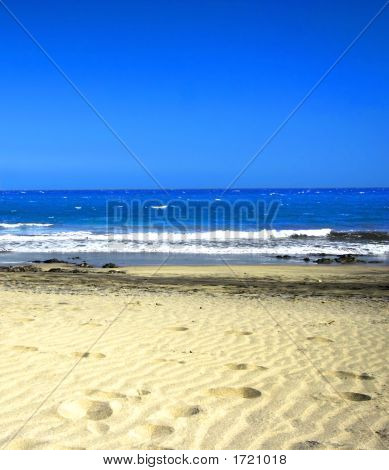 Golden Sandy Beach