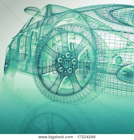 coches de modelo 3D