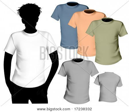 Vector illustration. T-shirt design template.