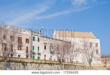 View of Bari. Apulia.