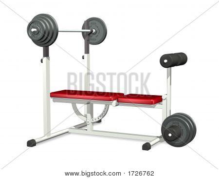 Banco de potencia de levantamiento de pesas