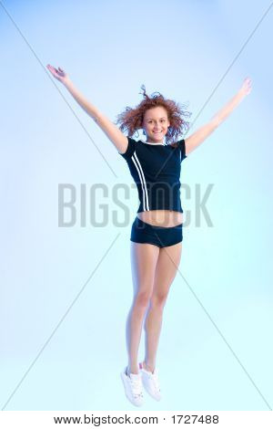 Flying Fitness Queen