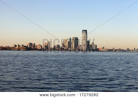 New Jersey At Sunset