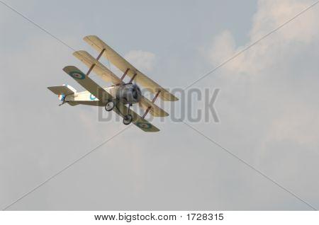 World War One Sopwith Triplane Aircraft