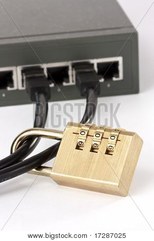 Lan Switch Security Locked