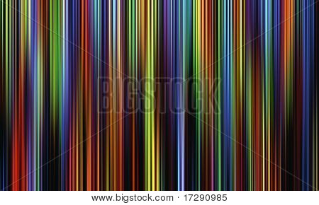 dark multicolored lines