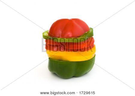 Multicolored Paprika