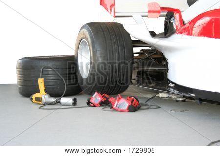 Formula - 1 Pit Stop Team Tools