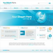 picture of web template  - Web site design template - JPG