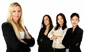 Diverse Female Business Team With 4