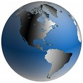 picture of world-globe  - highly - JPG