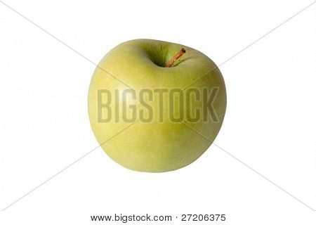 green apple - isolated on white