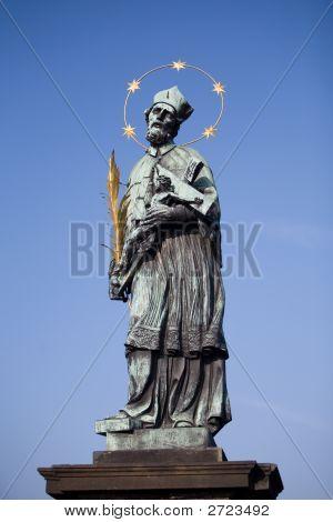 Statue - Charles Bridge