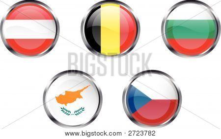 European Flag Buttons - Part 1