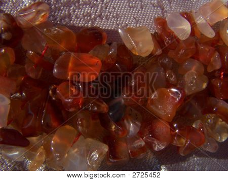 Variety Colors Of Cornelian Gems