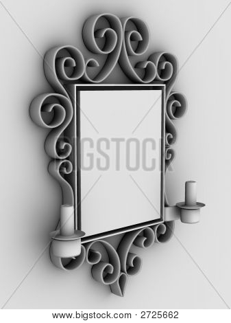 ..Abstract Frame, Ornament