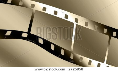 Metallic Chrome Filmstrip