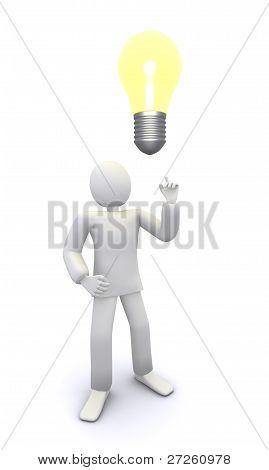 Bright bulb idea