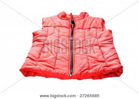 waistcoat under the light background