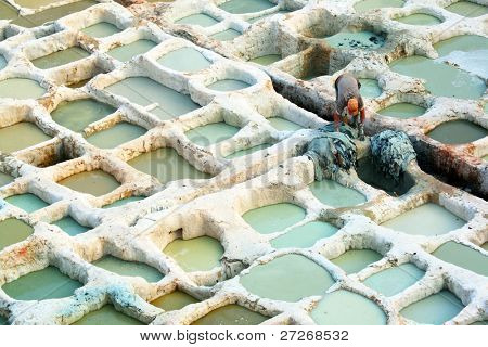 Fes Old Tanneries