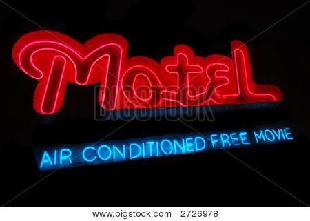 Motel Neon Sign