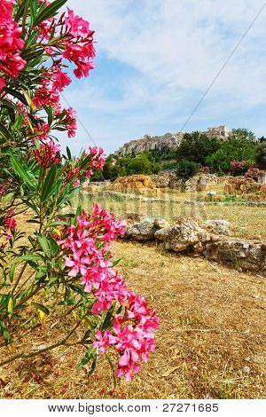 Scenic view of Acropolis, Athens, Greece
