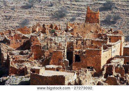 Moroccan kasbah ruins, Africa