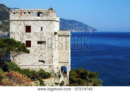 Monterosso al Mare Fortress, Cinque Terre, Italy