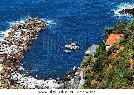 Ligurian coast, Cinque Terre, Italy