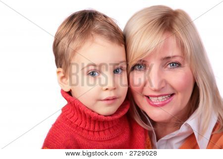 Middleaged Woman With Kid 3