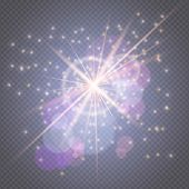 Light Effects Decorations For Typography, Web Online Concept.sparks Glitter Glowing, Star Burst Glow poster