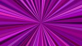 Purple Psychedelic Abstract Striped Starburst Background Design poster